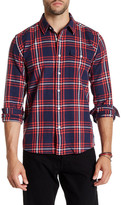 Saturdays Surf NYC Dorian Forest Plaid Shirt