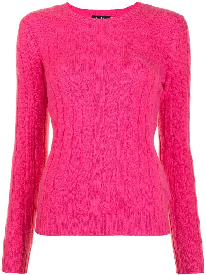 Thumbnail for your product : Polo Ralph Lauren Cable-Knit Cashmere Jumper