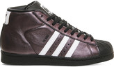 adidas Pro model glossy leather trainers