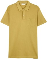 Sunspel Riviera Cotton Mesh Polo Shirt