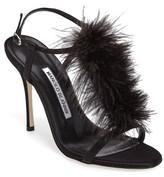 Manolo Blahnik Women's Eila T-Strap Sandal