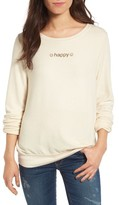 Wildfox Couture Women's Baggy Beach Jumper - So Happy Pullover