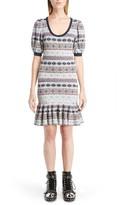 Alexander McQueen Women's Jacquard Lace Dress