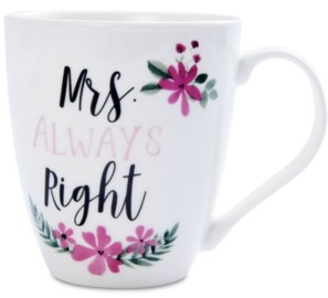 Pfaltzgraff Mrs. Always Right Mug