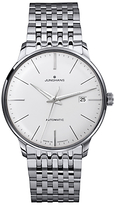 Junghans 027/4311.44 Meister Classic Self-winding Stainless Steel Bracelet Strap Watch, Silver