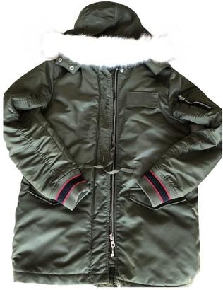 Sandro Khaki Coat for Women