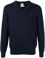 Kent & Curwen Three Lions cashmere pullover