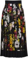 Dolce & Gabbana Floral Pleated Midi Skirt