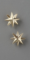 Giles & Brother Compass Rose Studs