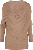Lanvin Wool, cashmere and silk-blend fine-knit sweater