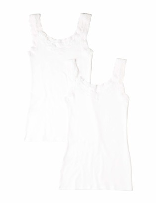 Iris & Lilly Amazon Brand Women's Cotton Vest Pack of 2