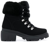KENDALL + KYLIE Roan faux-fur ankle boots