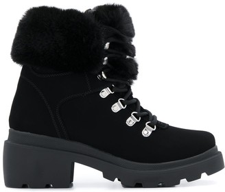 KENDALL + KYLIE Kendall+Kylie Roan faux-fur ankle boots