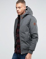 Element Dulcey Hooded Jacket Stone Grey