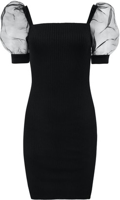 Saint Body Mesh Mini Dress