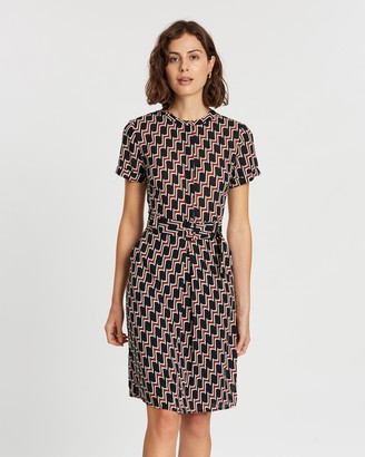 Forcast Jillian Printed Dress