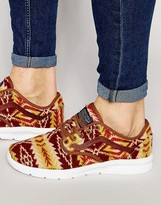Vans X Pendleton Iso 2 Trainers In Orange V184i2z
