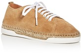 Andre Assous Shawn Perforated Espadrille Lace Up Sneakers