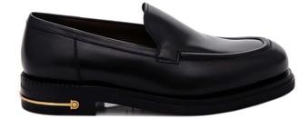 Salvatore Ferragamo Metal Detail Loafers