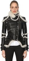 Alexander McQueen Shearling & Leather Jacket