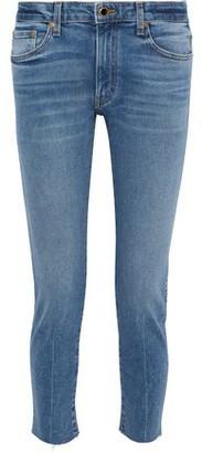 KHAITE Alissa Faded Slim Boyfriend Jeans