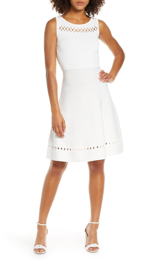9bc8cf9f008 French Connection White Dresses - ShopStyle