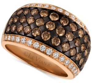 LeVian Le Vian Chocolatier Diamond Band (2-3/8 ct. t.w.) in 14k Rose Gold