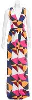 Dirk Bikkembergs Printed Silk Dress w/ Tags