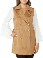 Peter Nygard Faux Suede Vest