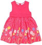 Jo-Jo JoJo Maman Bebe Lollipop Party Dress (Baby) - Raspberry-12-18 Months
