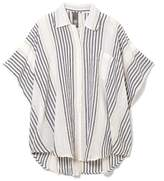 Vince Camuto Striped Cover-up Shirt