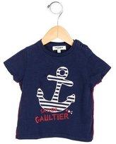 Jean Paul Gaultier Boys' Anchor Print Short Sleeve Shirt