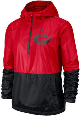 Nike Women Georgia Bulldogs Half-Zip Jacket