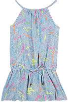 Pilyq Pily Q Paint-Splatter Cover-Up Dress