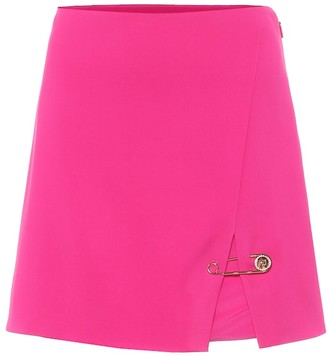 Versace Stretch-twill miniskirt
