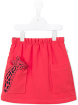 Paul Smith Giraffe embroidered skirt - kids - Polyester/Spandex/Elastane - 3 yrs