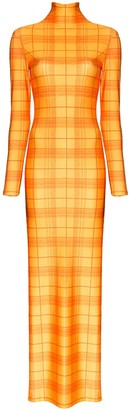 Supriya Lele Madras check maxi dress