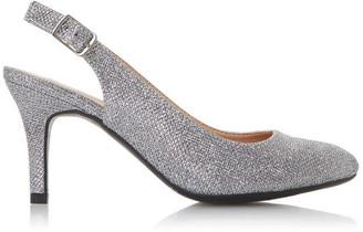Roberto Vianni Catherin Mid Heel Slingback Court Shoes