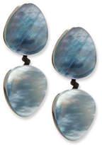 Viktoria Hayman Freeform Double-Drop Earrings, Pierced