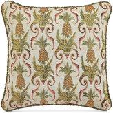 """Croscill Pina Colada 18"""" Square Decorative Pillow"""