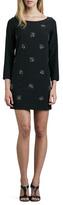 Shoshanna Embellished Shift Dress