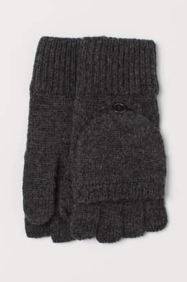 H&M Mittens/Fingerless Gloves - Black