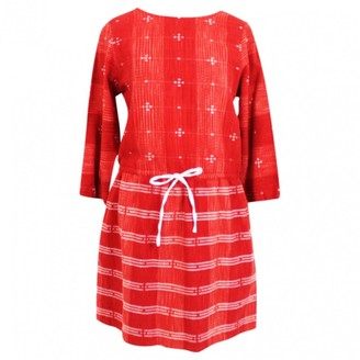 Ace&Jig Red Cotton Dress for Women