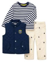 Little Me Baby Boys Nautical Three-Piece Outfit