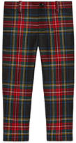 Gucci Children's wool tartan pant