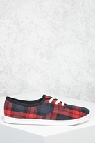 Forever 21 Plaid Canvas Sneakers