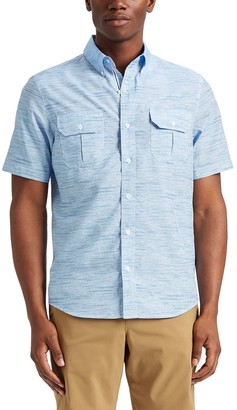 Chaps Men's Go Untucked Classic-Fit Outdoor Button-Down Shirt