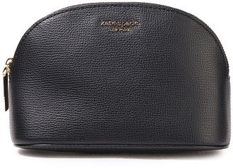 Kate Spade Sylvia Medium Textured-leather Cosmetics Case