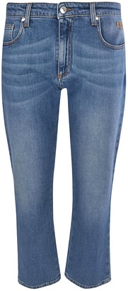 MSGM Cropped Length Jeans