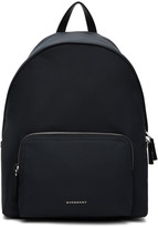 Burberry Navy Nylon Abbeydale Backpack